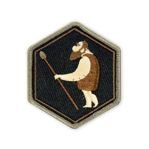 PDW Caveman Bushcraft: Intermediate Tool Making LTD ED Morale Patch - Tactical Outfitters