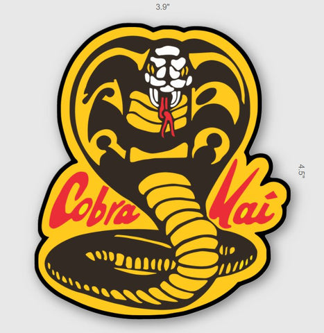 COBRA KAI STICKER - Tactical Outfitters