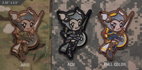 CUTE VALKYRIE MORALE PATCH - Tactical Outfitters