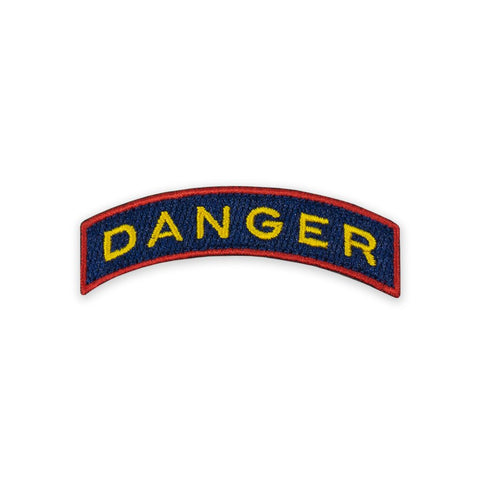 PDW DRB Danger Tab Morale Patch - Tactical Outfitters