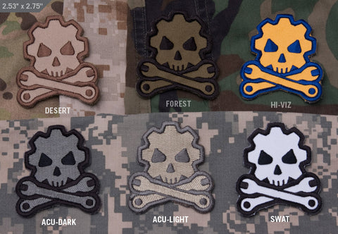 DEATH GUY MECHANIC MORALE PATCH - Tactical Outfitters