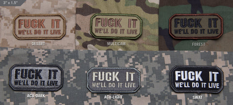 DO IT LIVE MORALE PATCH - Tactical Outfitters