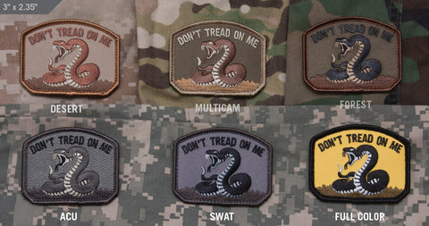 DON'T TREAD MORALE PATCH - Tactical Outfitters