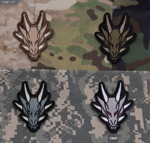 Dragon Head Morale Patch - Tactical Outfitters