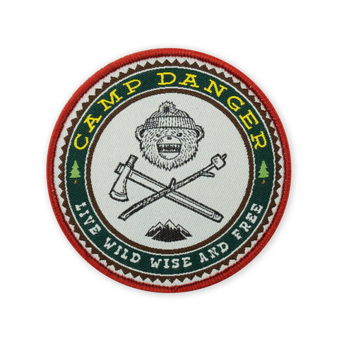 DRB Camp Danger Morale Patch - Tactical Outfitters