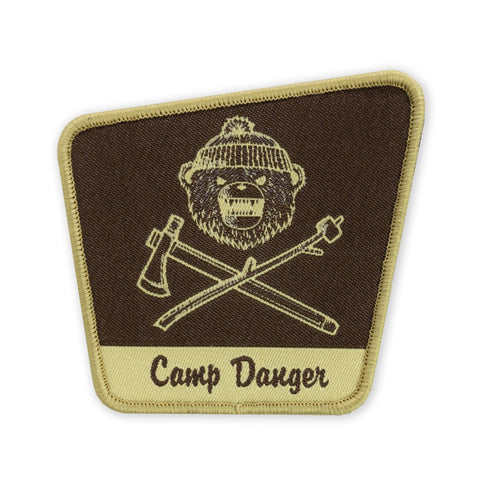 PDW DRB Camp Danger Park Sign LTD ED Morale Patch - Tactical Outfitters