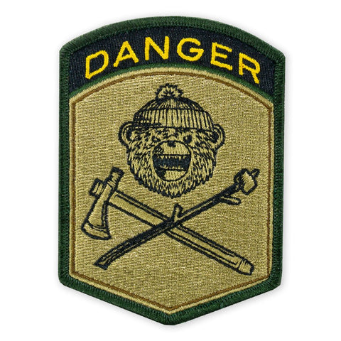 PDW DRB Danger Flash Morale Patch - Tactical Outfitters