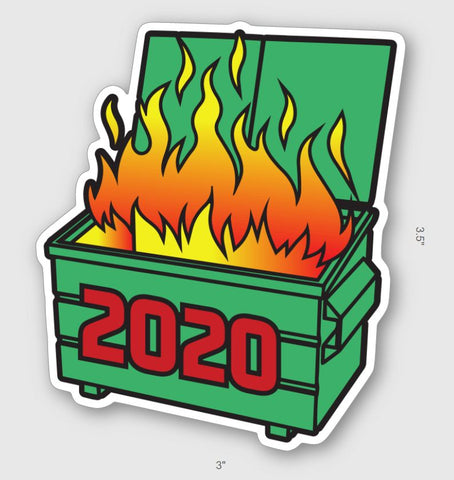 2020 Dumpster Sticker - Tactical Outfitters