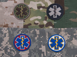EMT STAR PVC MORALE PATCH - Tactical Outfitters