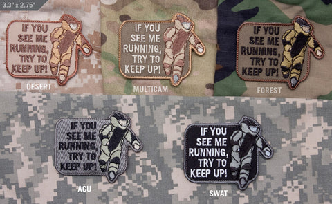 EOD Running Morale Patch - Tactical Outfitters