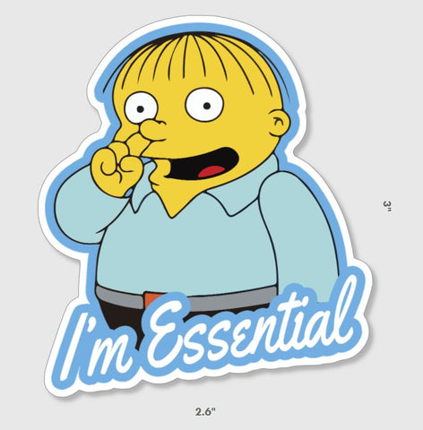 Essential Ralph Sticker - Tactical Outfitters