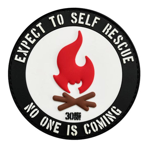 EXPECT TO SELF RESCUE PVC MORALE PATCH - Tactical Outfitters