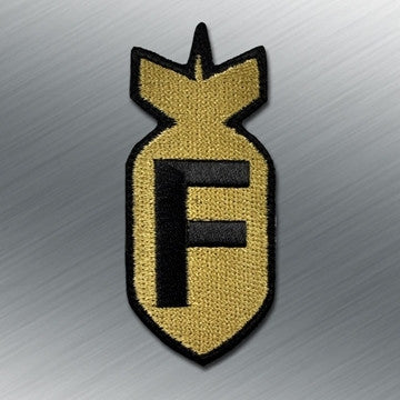 F BOMB MORALE PATCH - Tactical Outfitters