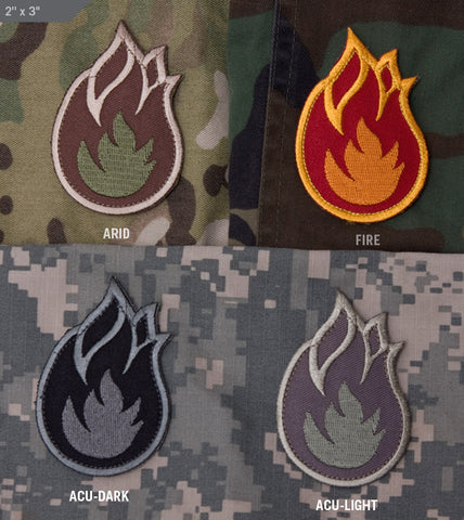 Fireball Morale Patch - Tactical Outfitters