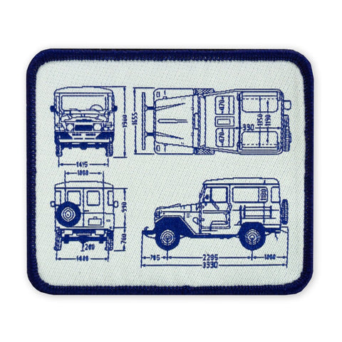 PDW FJ40 BluePrint LTD ED Morale Patch - Tactical Outfitters