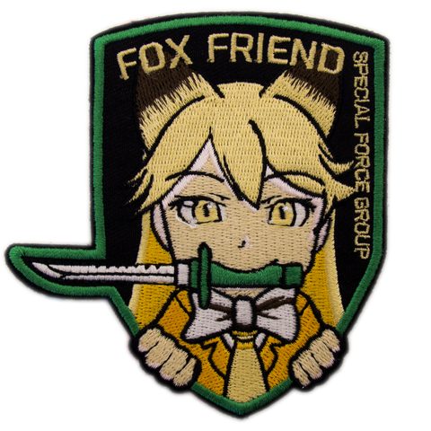 FOX FRIEND MORALE PATCH - Tactical Outfitters