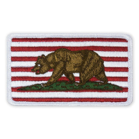 PDW Free California Flag Morale Patch - Tactical Outfitters
