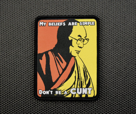 DALAI LAMA MORALE PATCH - Tactical Outfitters