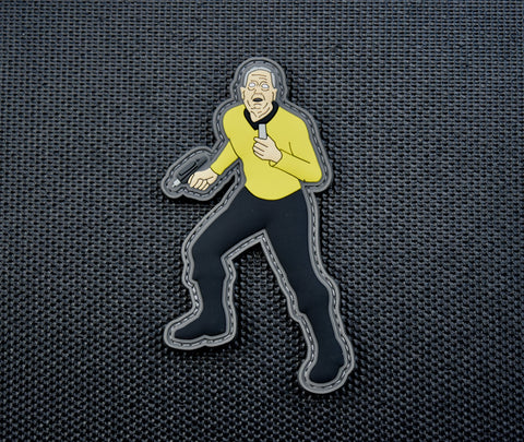 GENERAL MATTIS SPACE FORCE STAR TREK PARODY 3D PVC MORALE PATCH - Tactical Outfitters