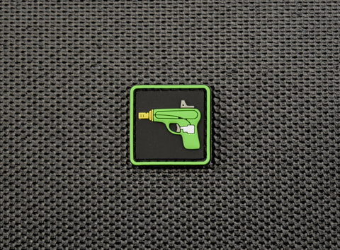 ENHANCED EMOJI WATER PISTOL 3D PVC RANGER EYE MORALE PATCH - Tactical Outfitters