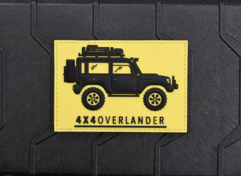 4X4 OVERLANDER 3D PVC MORALE PATCH - Tactical Outfitters