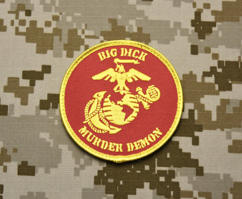 BIG DICK MURDER DEMON MORALE PATCH - Tactical Outfitters