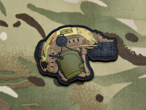 UKSF Helmet 3D PVC Morale Patch - Tactical Outfitters