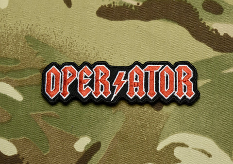 AC/DC OPERATOR MORALE PATCH - Tactical Outfitters