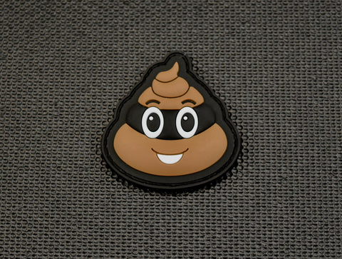 TURD BURGLAR PVC MORALE PATCH - Tactical Outfitters
