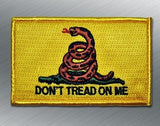 GADSDEN FLAG PATCH - Tactical Outfitters