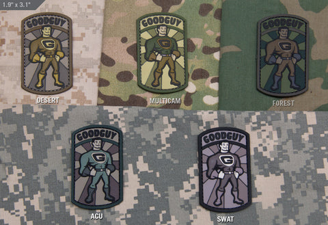Goodguy PVC Patch - Tactical Outfitters