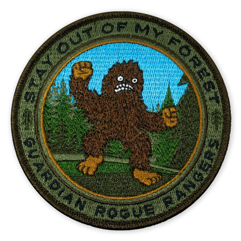 PDW GRR Sasquatch Stay Out Of My Forest 2018 LTD ED Morale Patch - Tactical Outfitters