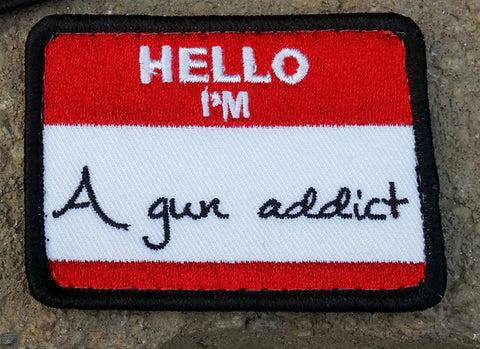 Gun Addict Morale Patch - Tactical Outfitters