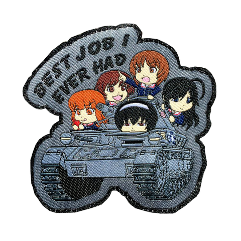 GIRLS UND PANZER MORALE PATCH - Tactical Outfitters