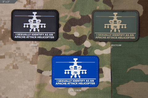 HELISEXUAL PVC MORALE PATCH - Tactical Outfitters