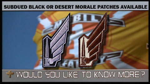 STARSHIP TROOPERS - MOBILE INFANTRY MORALE PATCH - Tactical Outfitters