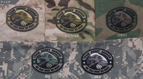 HONEY BADGER PVC MORALE PATCH - Tactical Outfitters