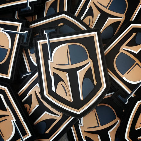 Golden Fett - PVC Morale Patch - Tactical Outfitters
