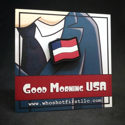 GOOD MORNING USA PVC MORALE PATCH - Tactical Outfitters