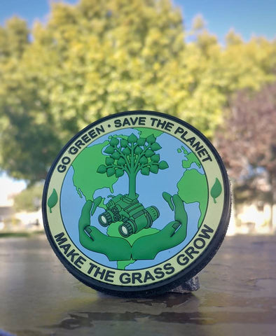 Save the Planet - PVC Morale Patch - Tactical Outfitters