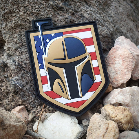 Golden Fett USA - PVC Morale Patch - Tactical Outfitters