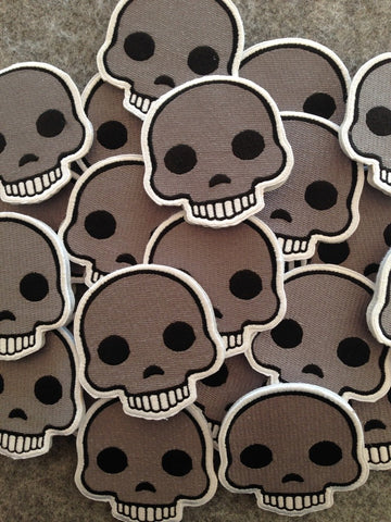 Skull Emoji Morale Patch - Tactical Outfitters