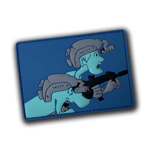 CONTACT SCOOB! PVC MORALE PATCH - Tactical Outfitters
