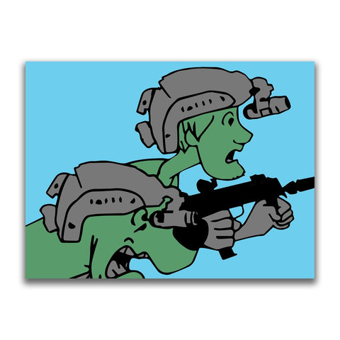 CONTACT SCOOB! STICKER - Tactical Outfitters