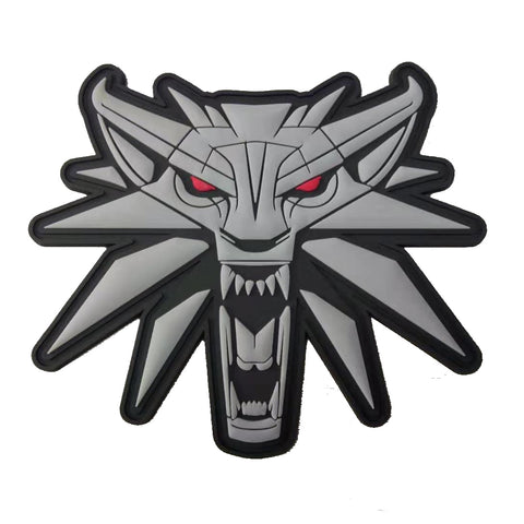 The Witcher - Wild Hunt Wolf PVC Morale Patch - Tactical Outfitters