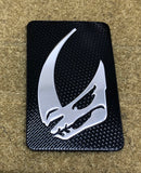 Beskar Mudhorn Carbon Morale Patch - Tactical Outfitters