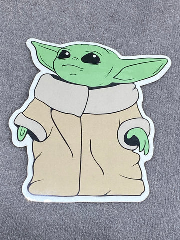 The Child - Baby Yoda V2 Sticker - Tactical Outfitters