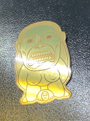 Fertility Idol Golden Sticker