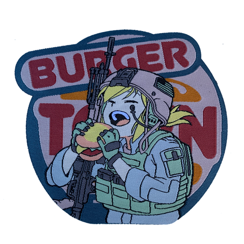 BURGER TOWN MORALE PATCH - Tactical Outfitters