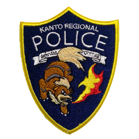 KANTO REGIONAL POLICE MORALE PATCH - Tactical Outfitters